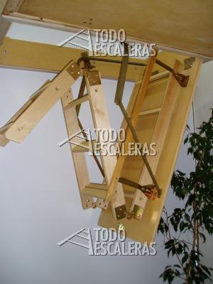 Escalera para altillo desde los 2m a 3mts todo escaleras - Escaleras para altillos ...