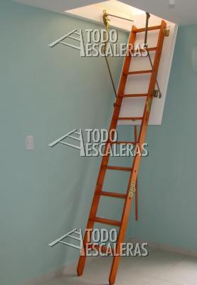 Escalera plegable para altillo amazing en escaleras plegables para altillos with escalera - Escalera plegable altillo ...